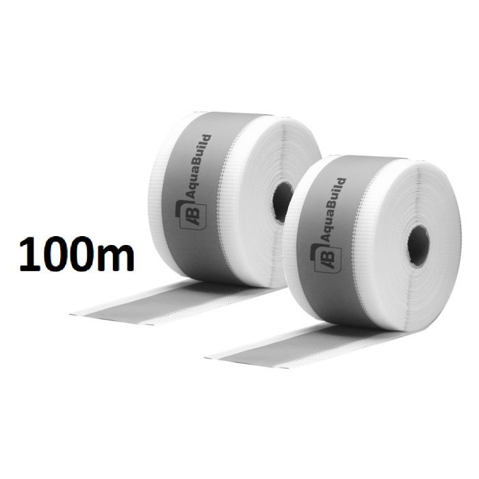 "100m Fleece-backed Waterproof Tanking ""TYPE II"" Tape"