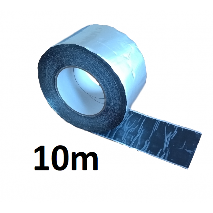 10m ALUBUTYL - Aluminium Butyl Tape 100mm