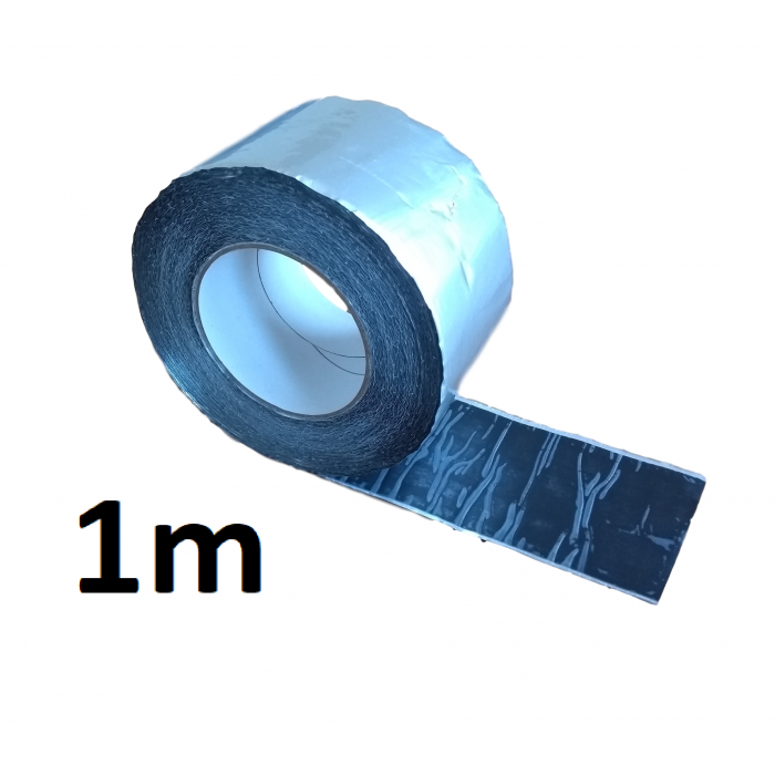 1m ALUBUTYL - Aluminium Butyl Tape 100mm