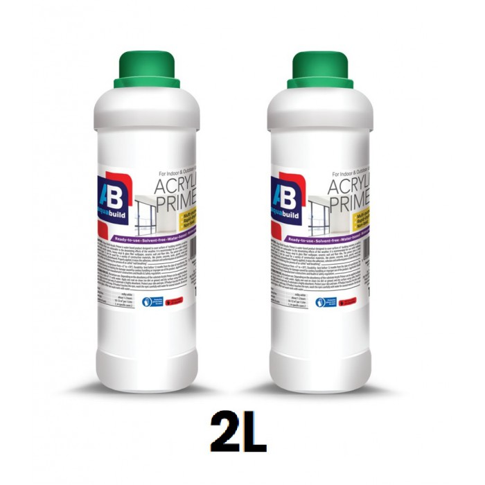 2L AQUA BUILD Acrylic Primer