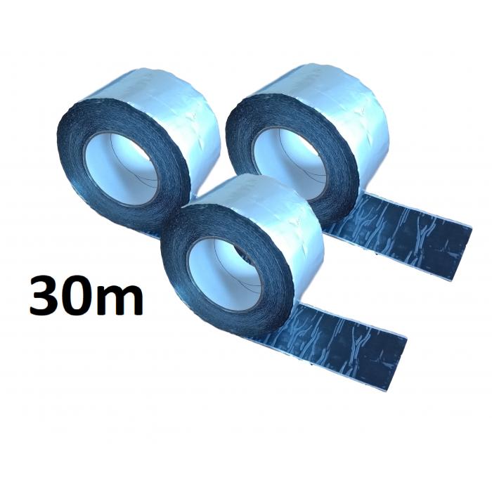 30m ALUBUTYL - Aluminium Butyl Tape 100mm