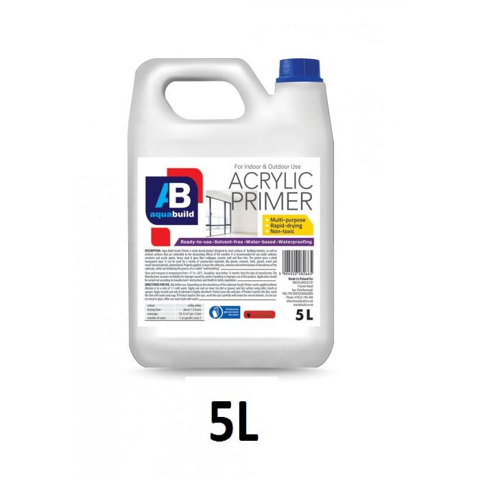 5L AQUA BUILD Acrylic Primer