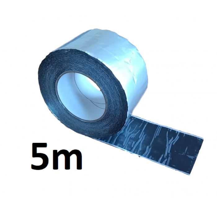 5m ALUBUTYL - Aluminium Butyl Tape 100mm