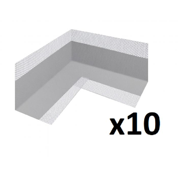 10x Fleece-backed Waterproof Tanking Inner Corner Joints