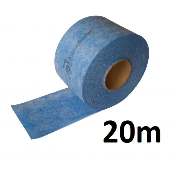 """20m Indoor/Outdoor Waterproof Tanking """"TYPE III"""" Tape"""