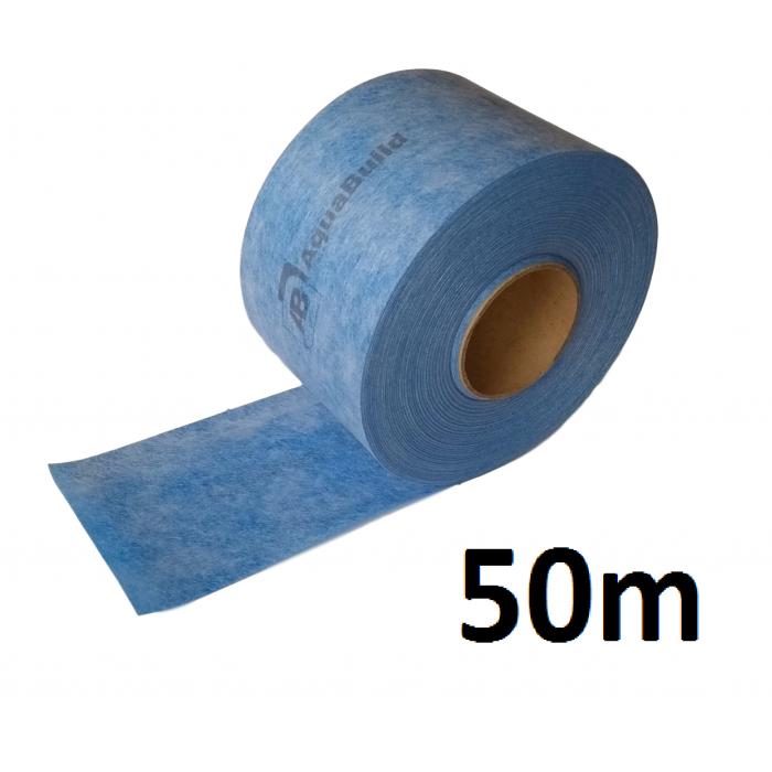 """50m Indoor/Outdoor Waterproof Tanking """"TYPE III"""" Tape"""
