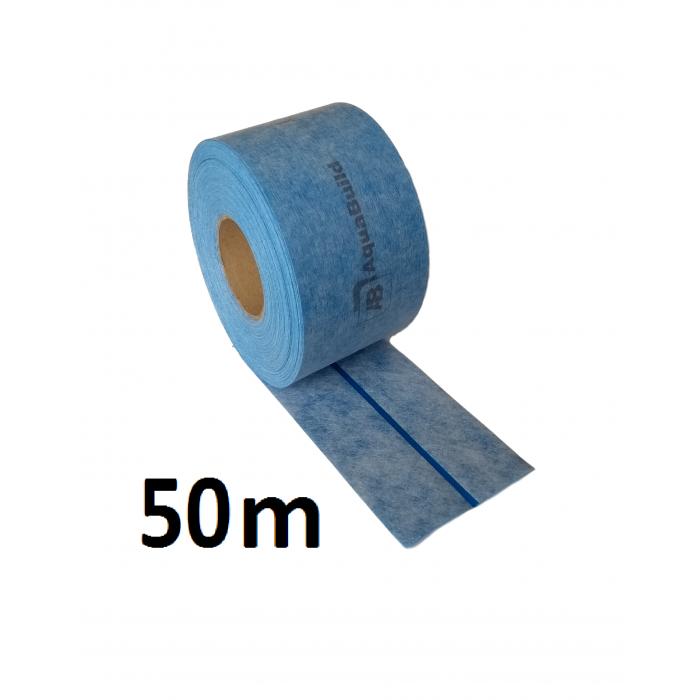 """50m Elastic In/Outdoor Waterproof Tanking """"TYPE IV"""" Tape"""