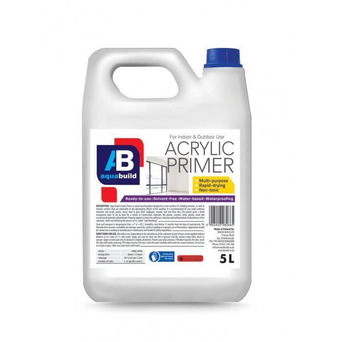 1L - 10L AQUA BUILD Acrylic Primer