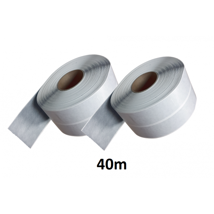 40m Self-Adhesive Waterproof Tanking BUTYL Tape 100mm