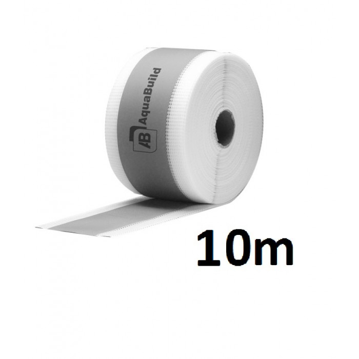 "10m Fleece-backed Waterproof Tanking ""TYPE II"" Tape"