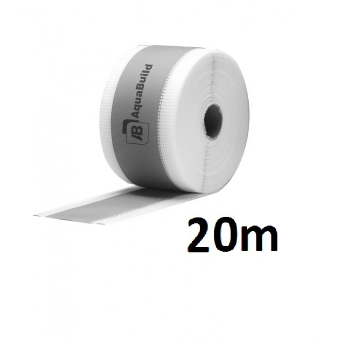 "20m Fleece-backed Waterproof Tanking ""TYPE II"" Tape"
