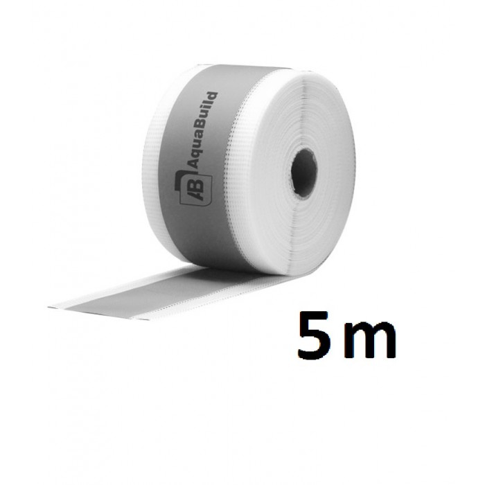 "5m Fleece-backed Waterproof Tanking ""TYPE II"" Tape"